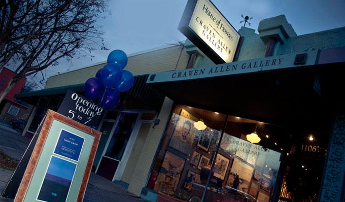 Craven Allen Gallery House Of Frames North Carolinas Premier