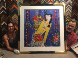 amci, regence, house of frames, craven allen gallery, custom framing