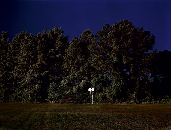 Backboard by MJ Sharp, photograph at Craven Allen Gallery