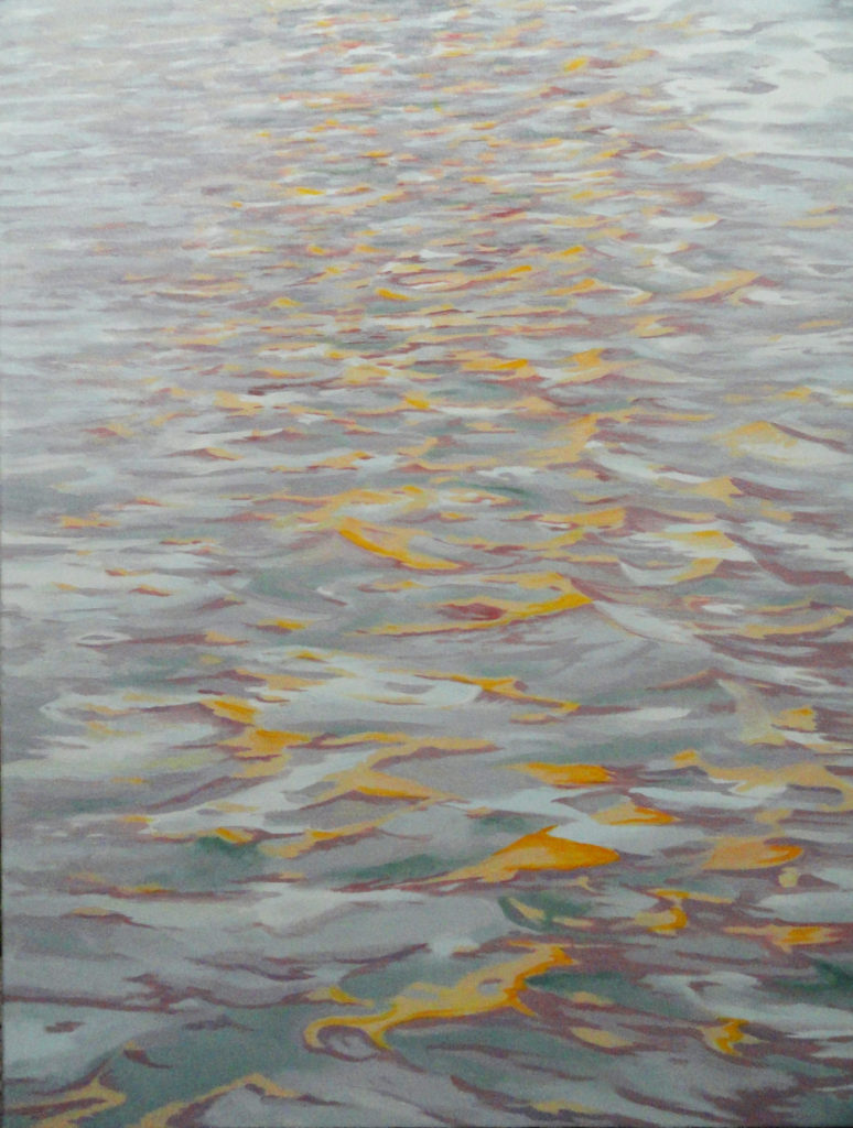 Batten Dock by Sue Sneddon, oil on canvas, 30 x 24 at Craven Allen Gallery 4500