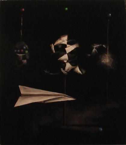 Fable by Ben Bridgers oil on canvas 18 x 16 at Craven Allen Gallery