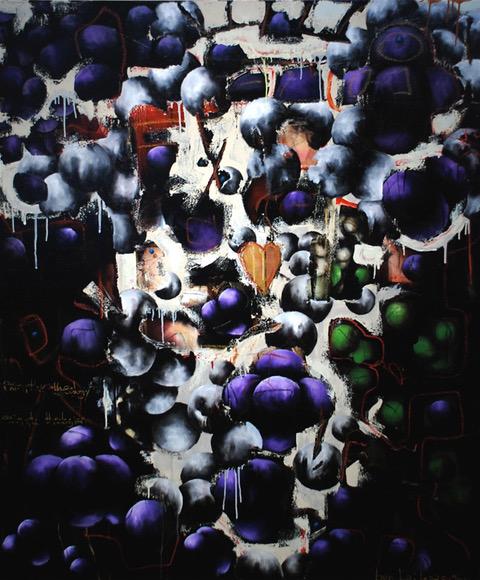 1993 by Ben Bridgers oil on canvas 72 x 60 at Craven Allen Gallery