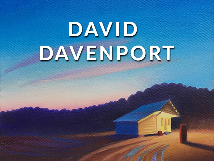 DAVID DAVENPORT AT CRAVEN ALLEN GALLERY