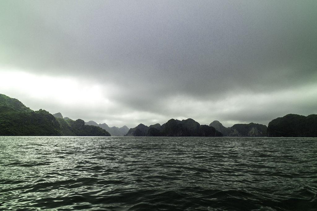 Vietnam Karst Rocks on Water, Ha Long Bay by Greg Plachta, photograph at Craven Allen Gallery