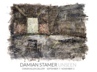 DAMIAN STAMER: UNSEEN at Craven Allen Gallery, Durham, NC