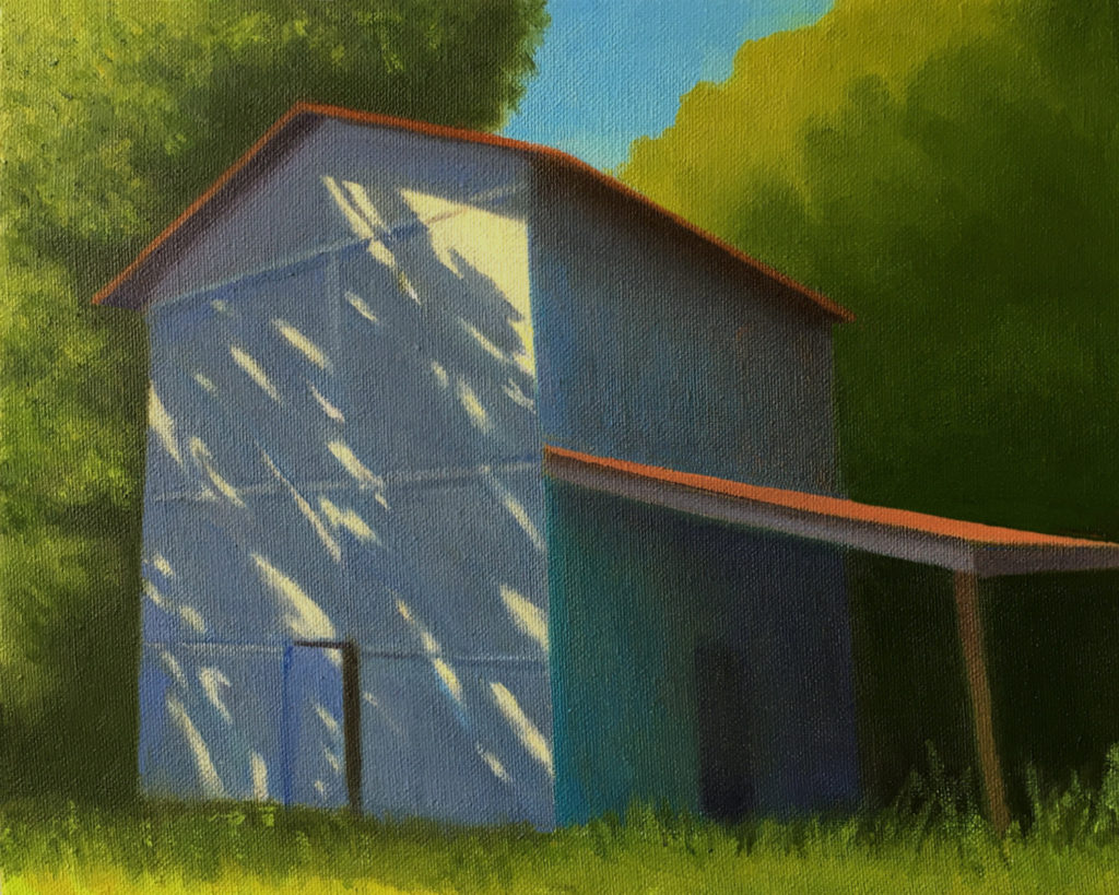 Afternoon Reflection by David Davenport 8X10 oil on canvas at Craven Allen Gallery 800