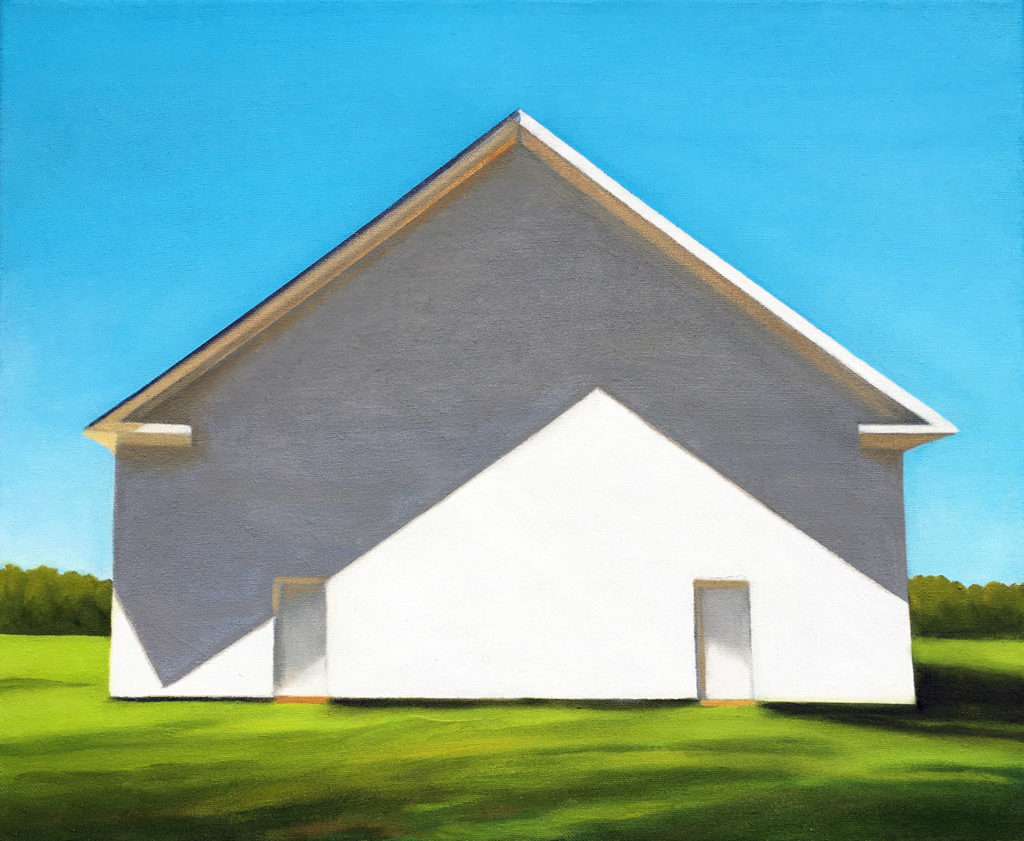 Light Informs the Shadow by David Davenport 14X17 oil on canvas at Craven Allen Gallery  1500