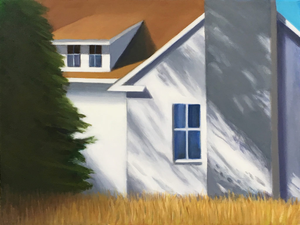 Light & Shadow by David  Davenport 12X16 oil on canvas at Craven Allen Gallery  1200