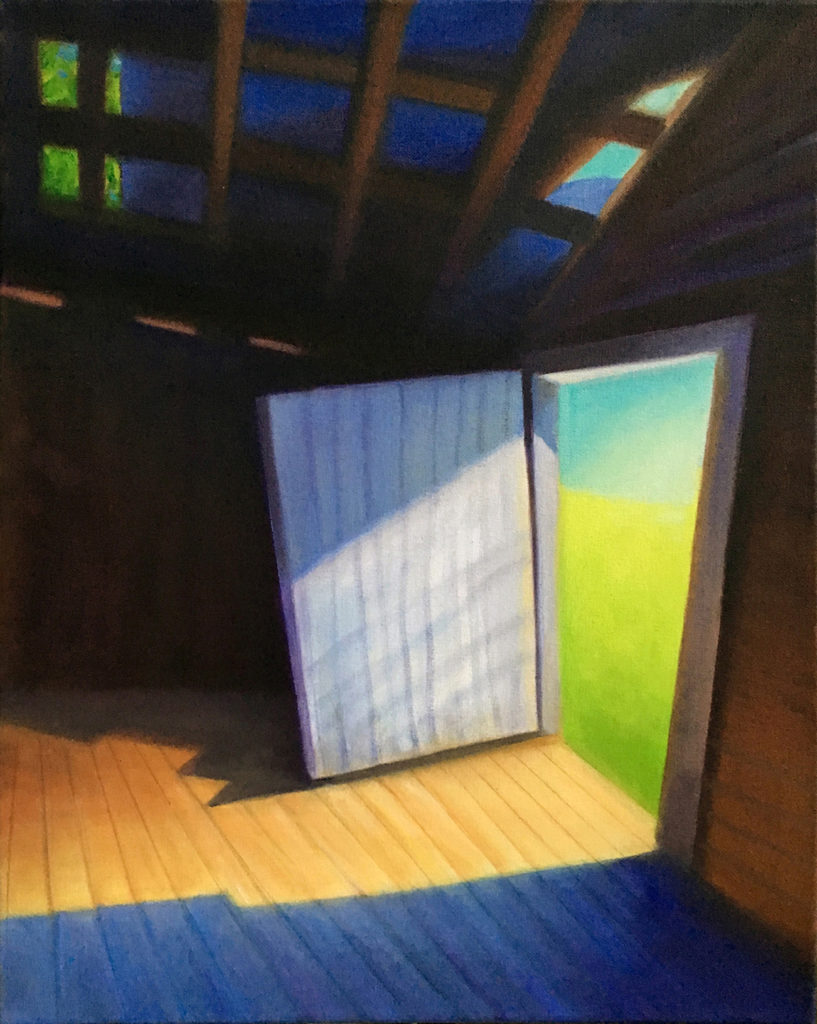 Light Within by David Davenport oil on canvas 16X20  at Craven Allen Gallery  1500