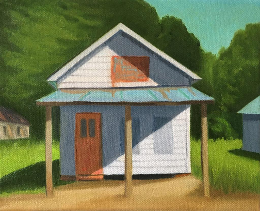 Mottie Bells Revival by David Davenport 8X10 oil on canvas  at Craven Allen Gallery 800