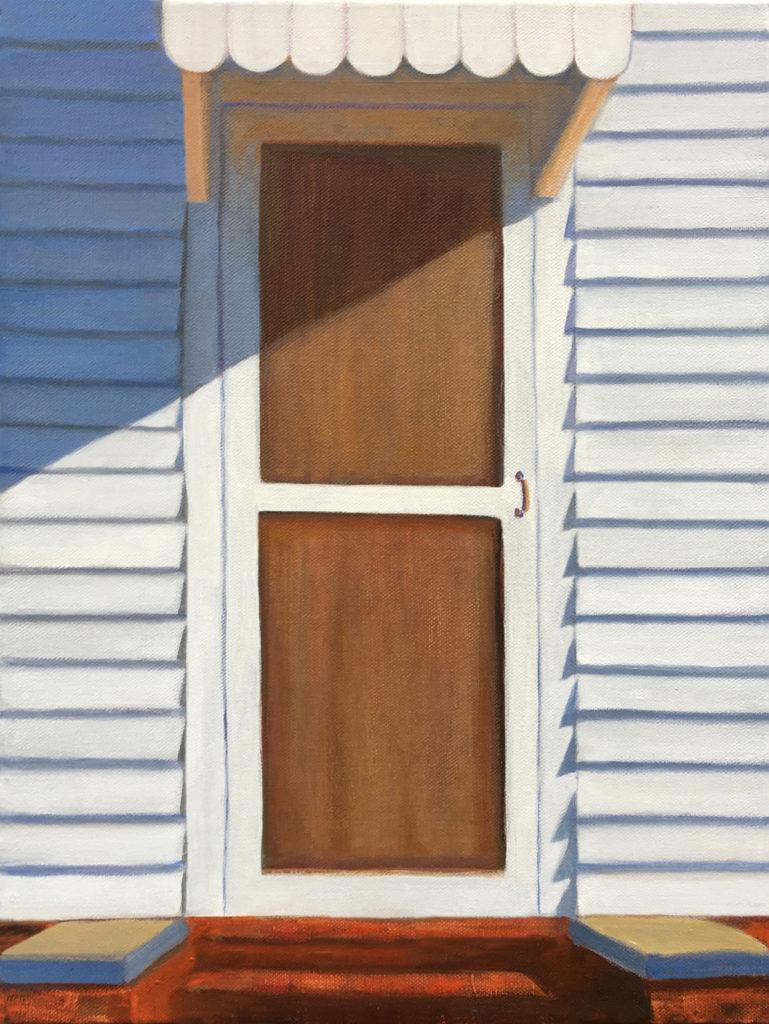 Screen Door Memory by David Davenport 12X16 oil on canvas at Craven Allen Gallery  1400