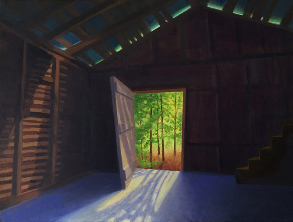 Spring Awakening by David Davenport 18X24 oil on canvas at Craven Allen Gallery  1800