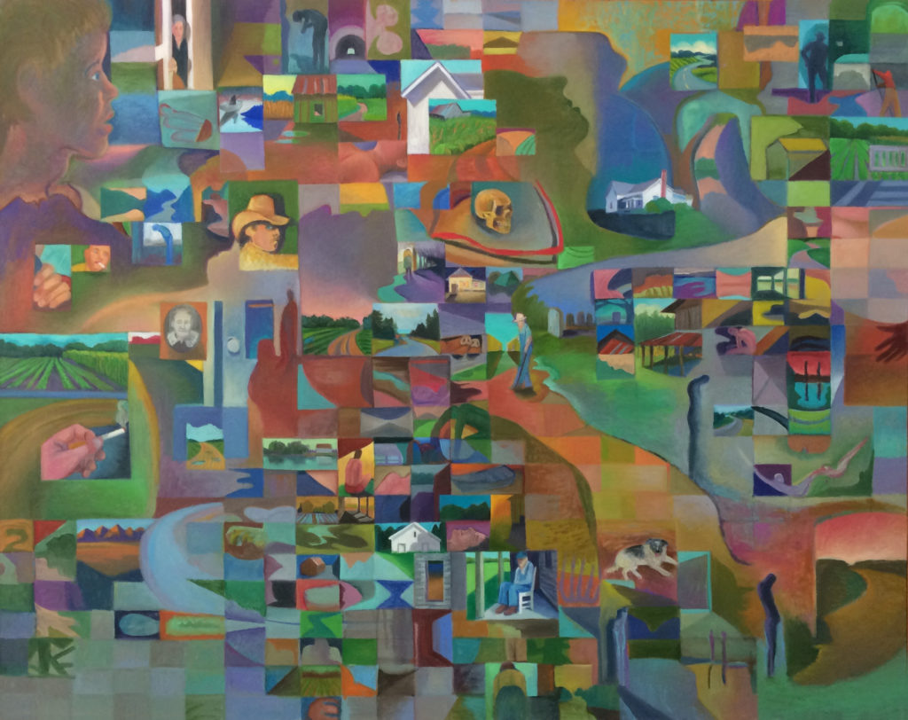 Time Passages by David Davenport 36X48 oil on canvas at Craven Allen Gallery  3900