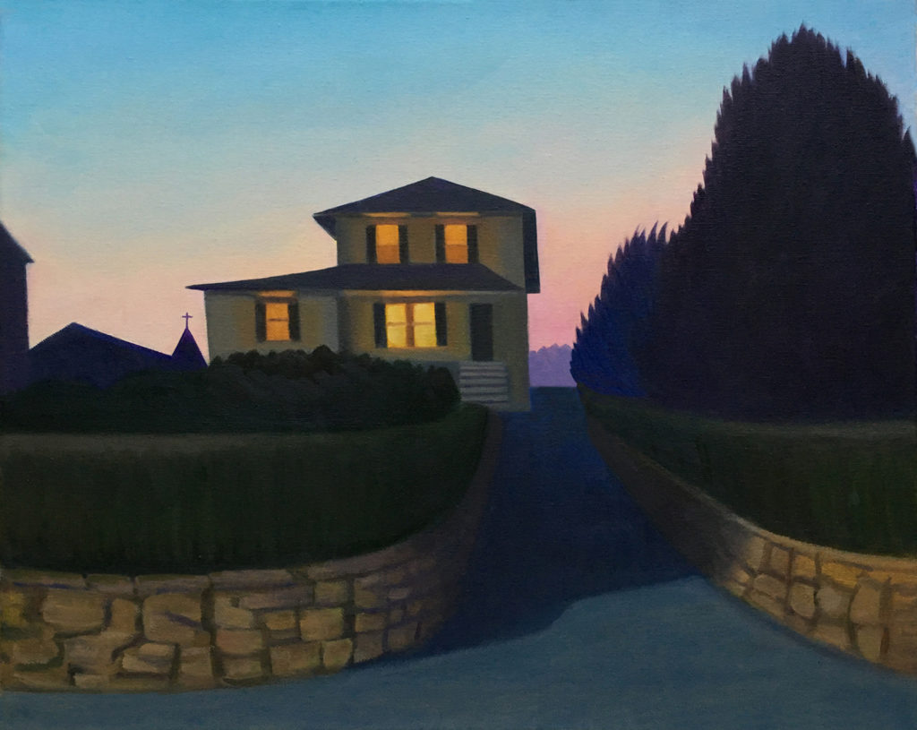 Twilight by David Davenport 16X20 oil on canvas at Craven Allen Gallery1400
