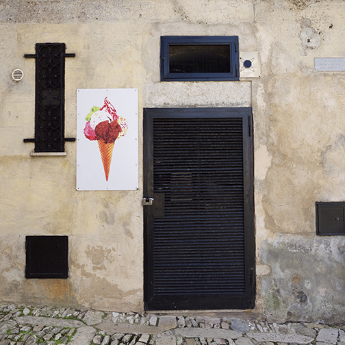 Sicily Icecream by Elizabeth Matheson, photograph at Craven Allen Gallery