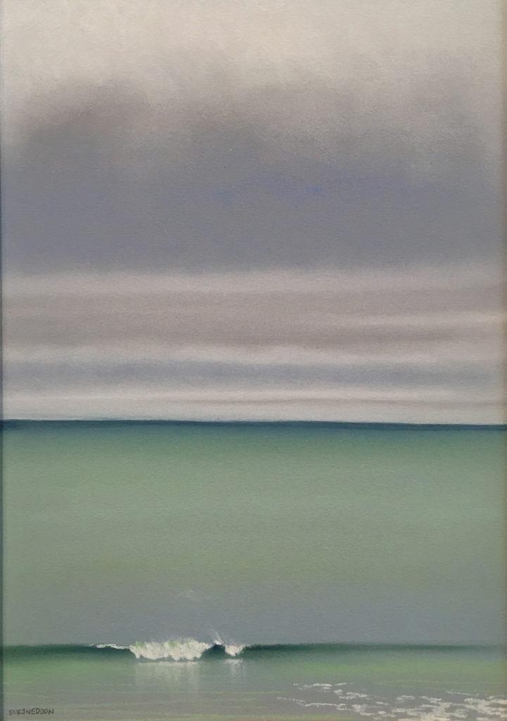 February Window III by Sue Sneddon, pastel, 13 x 9 at Craven Allen Gallery