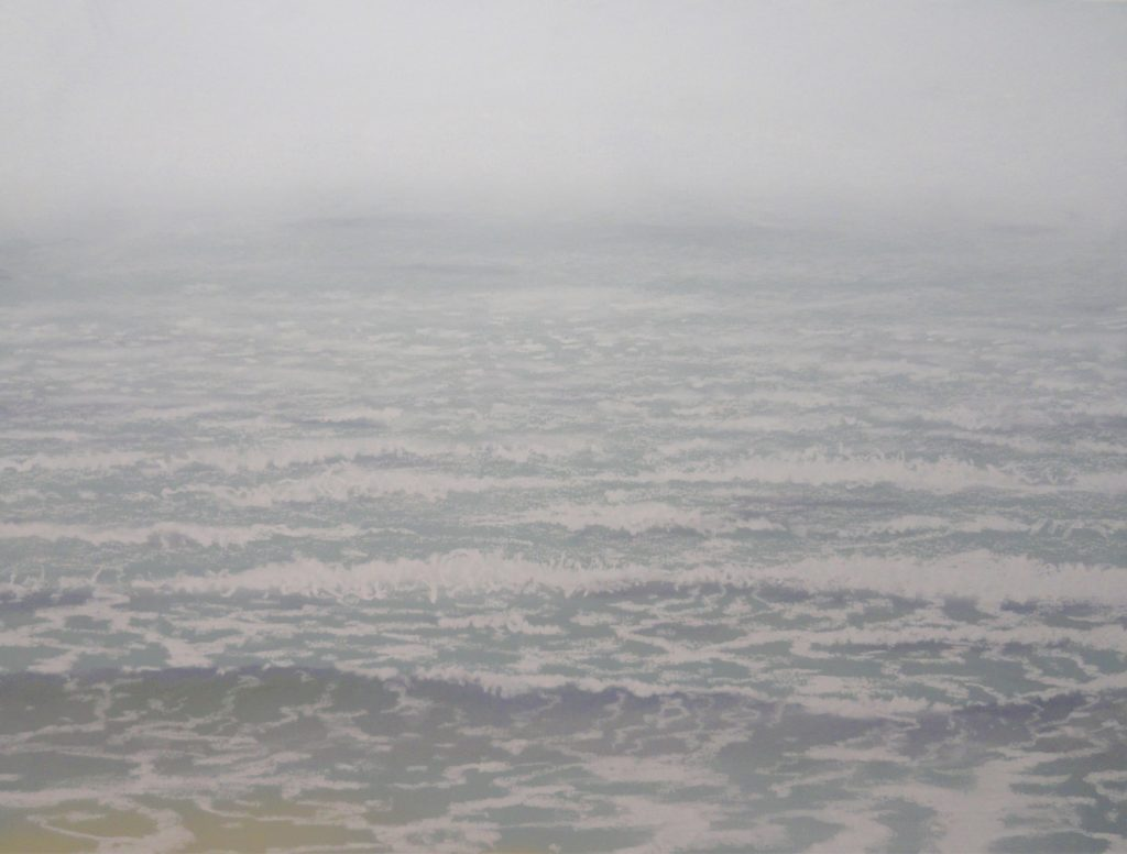 First Day Ocean by Sue Sneddon, pastel, 8.5 x 11.5 framed size 16 x 19 at Craven Allen Gallery  850