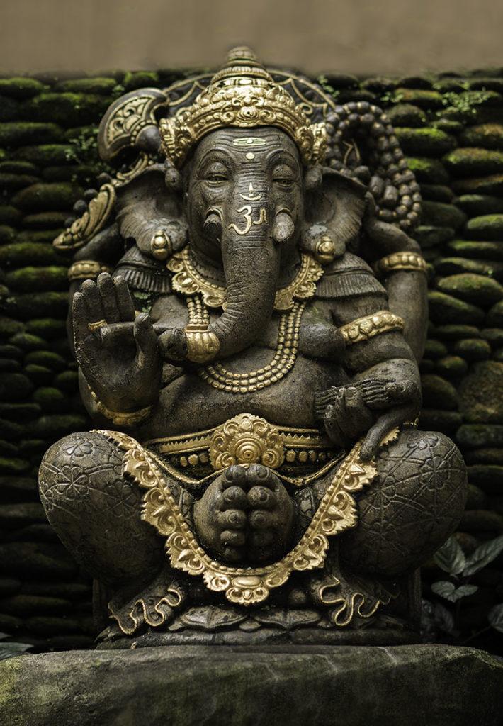Ganesha Idol by Greg Plachta, photograph at Craven Allen Gallery