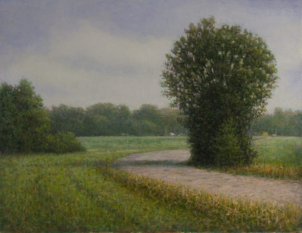 Leaving Virginia by Gerry O'Neill, oil on canvas, 11 x 14 at Craven Allen Gallery