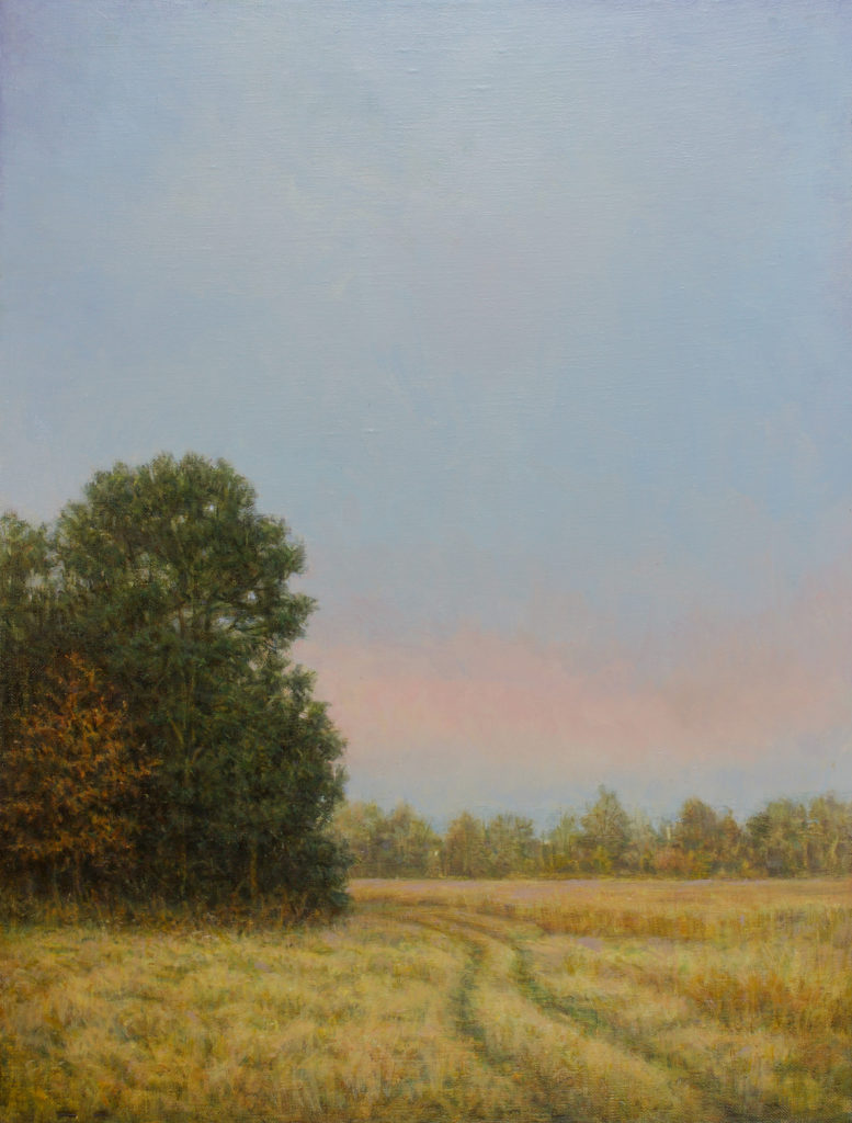 November Afternoon by Gerry O'Neill, oil on canvas, 16 x 24 at Craven Allen Gallery
