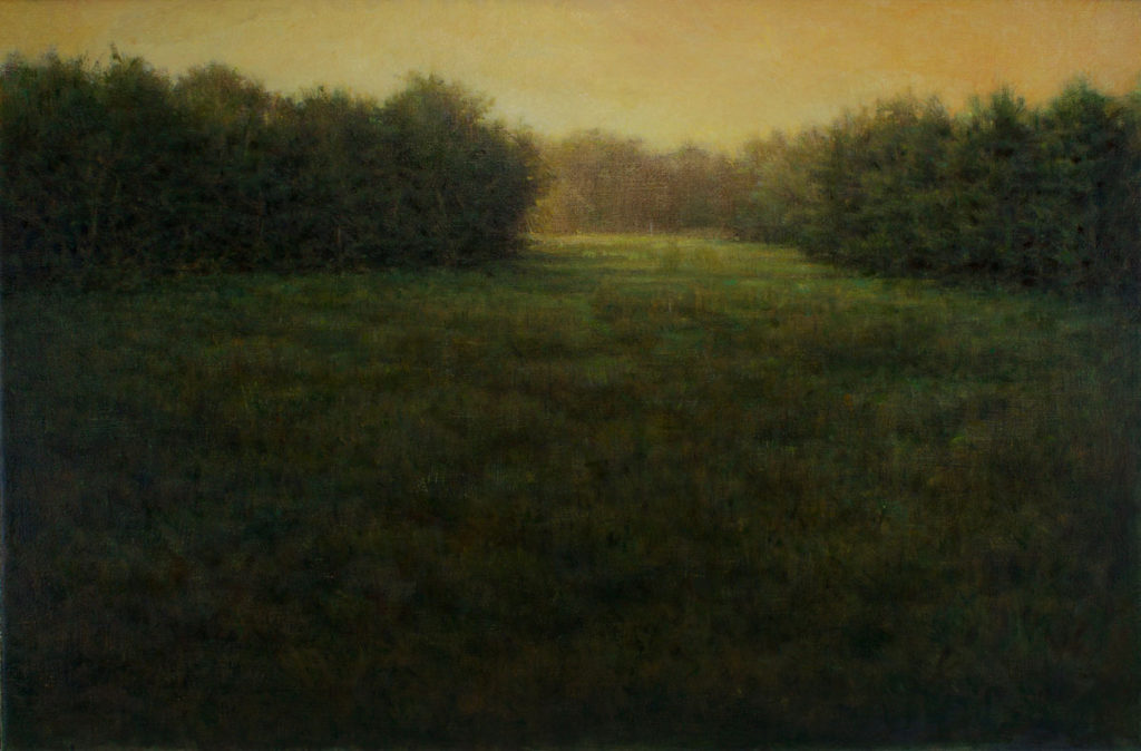The Gloaming by Gerry O'Neill, oil on canvas, 16 x 24 at Craven Allen Gallery