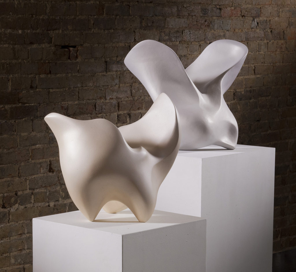 Figures, clay,  by Rosalie Midyette at Craven Allen Gallery