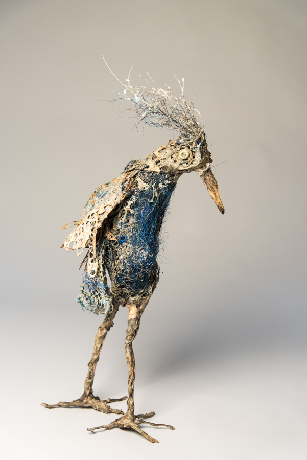 Sea Bird, mixed materials, by Bryant Holsenbeck at Craven Allen Gallery