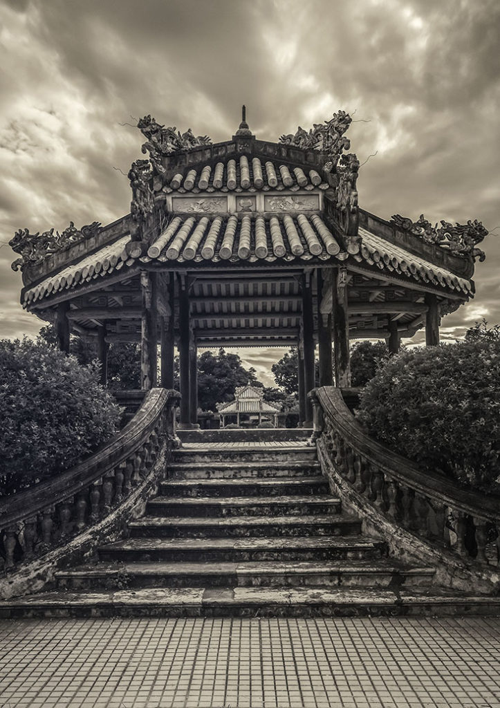 Pagoda at Hue by Greg Plachta, photograph at Craven Allen Gallery
