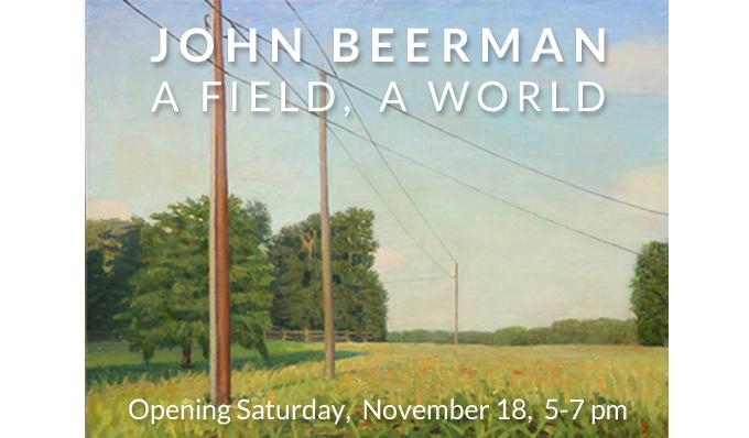 JOHN BEERMAN: A FIELD, A WORLD at Craven Allen Gallery