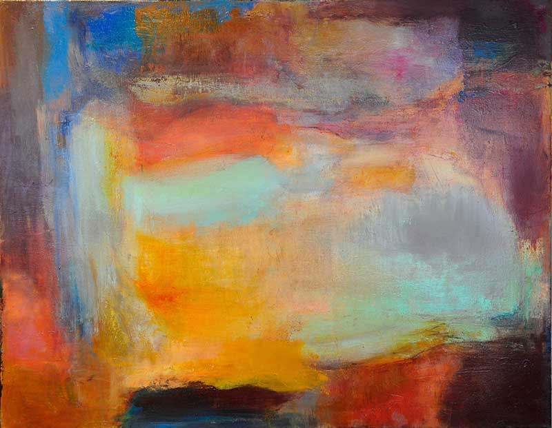 Canyon Series II, Oil on linen, 22x28 by Judy Keene at Craven Allen Gallery