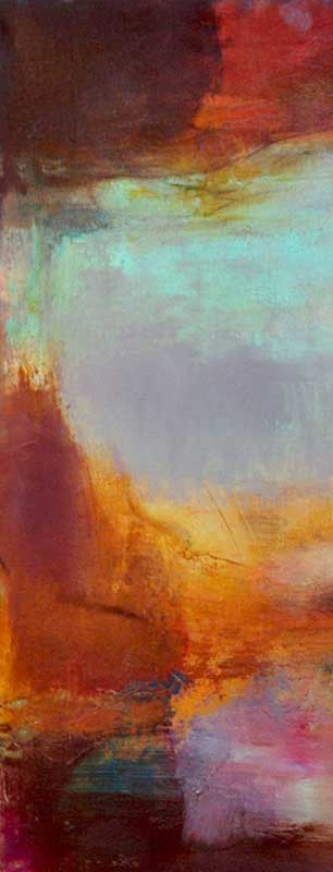 Canyon Series II Oil-on-Linen, by Judy Keene at Craven Allen Gallery