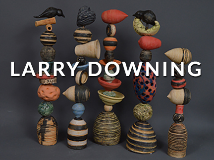 LARRY DOWNING AT CRAVEN ALLEN GALLERY