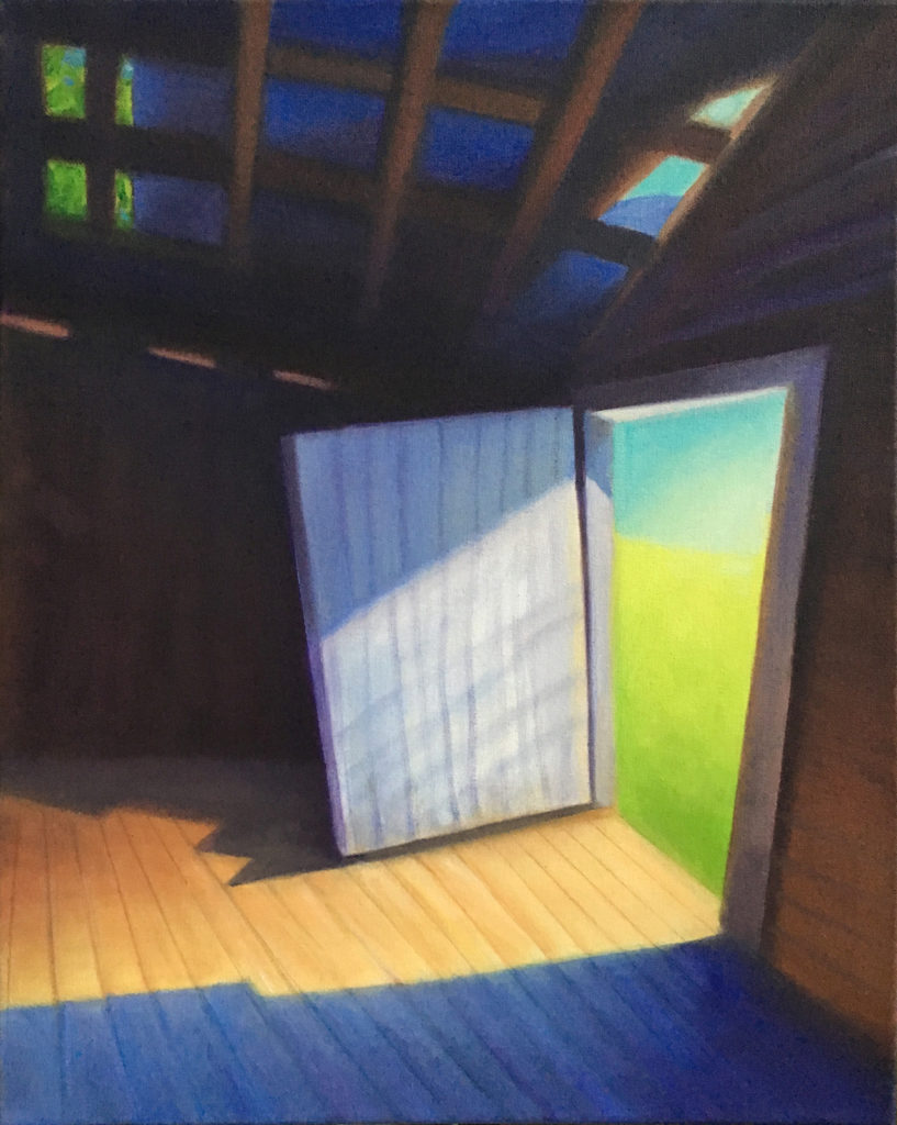 Light Within by David Davenport, oil, 20 x 16 at Craven Allen Gallery