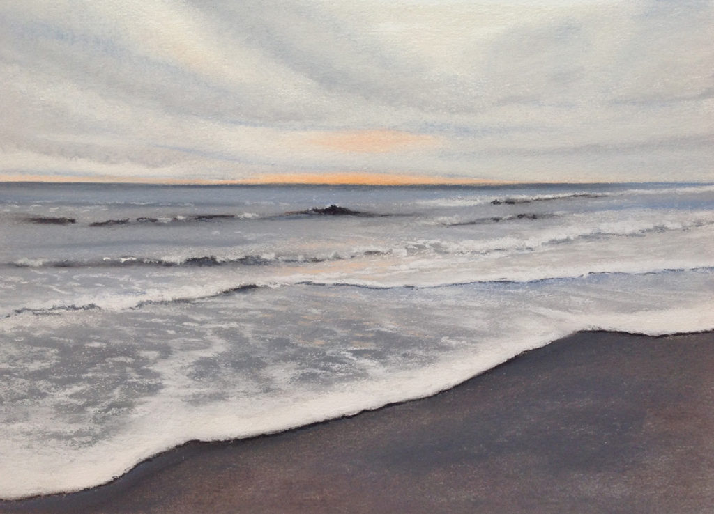 New Year's Day by Sue Sneddon, pastel, 7 x 10 at Craven Allen Gallery