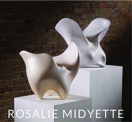 ROSALIE MIDYETTE: SHADE SHADOW SHAPE at Craven Allen Gallery, Durham, NC