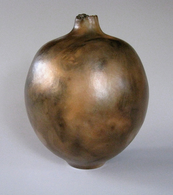 Remember, pit fired earthenware, 10 x 8 by Jim Lux at Craven Allen Gallery