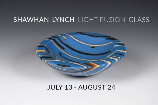 SHAWHAN LYNCH: LIGHT FUSION GLASS at Craven Allen Gallery, Durham, NC