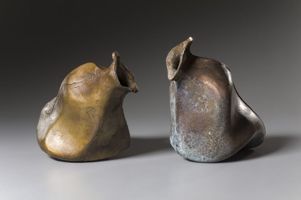Speak by Rosalie Midyette, bronze, 14x8x7 at Craven Allen Gallery