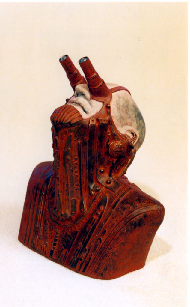Stargazer cast stone by Tom Kregel at Craven Allen Gallery