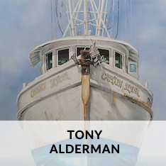 TONY ALDERMAN AT CRAVEN ALLEN GALLERY