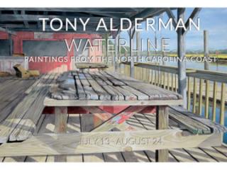 TONY ALDERMAN: WATERLINE at Craven Allen Gallery, Durham, NC