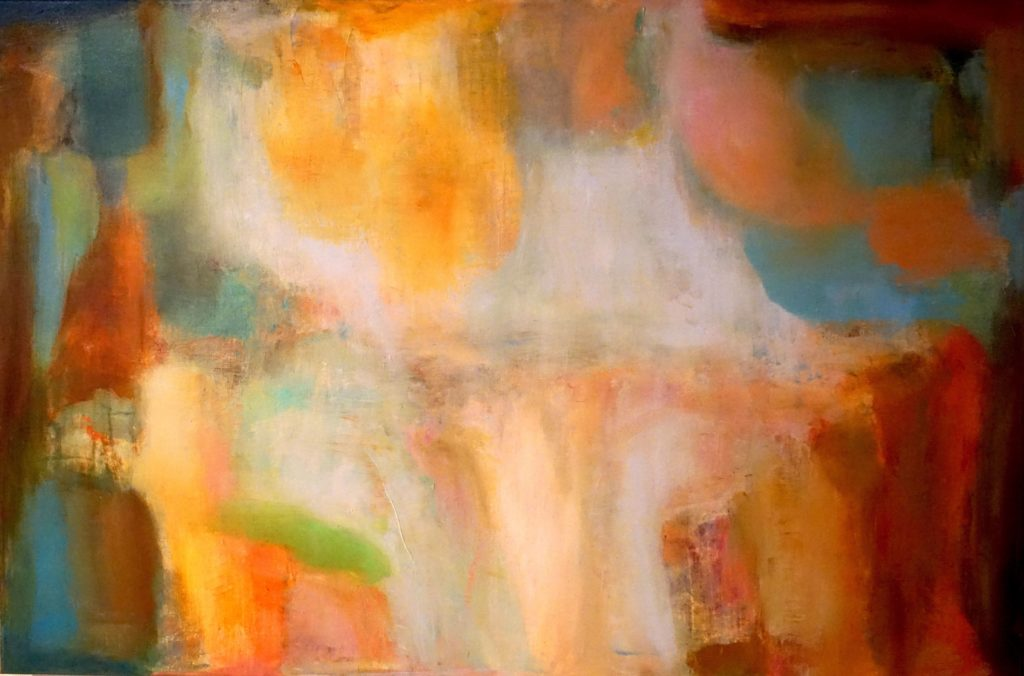 Traces by Judy Keene, Oil on Linen, 24×36 at Craven Allen Gallery
