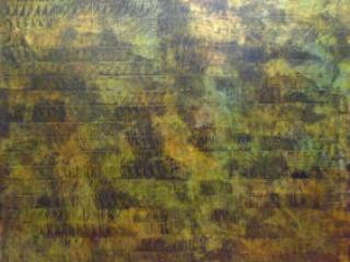 Unfolding Meditation by Paul Hrusovsky, acrylic on canvas, 36 x 36 at Craven Allen Gallery 1800