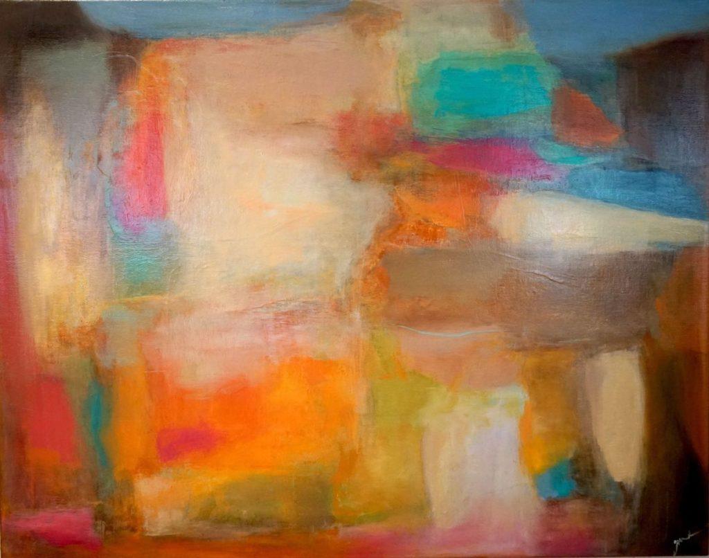 Verve II by Judy Keene, Oil on Linen, 22×28 at Craven Allen Gallery.