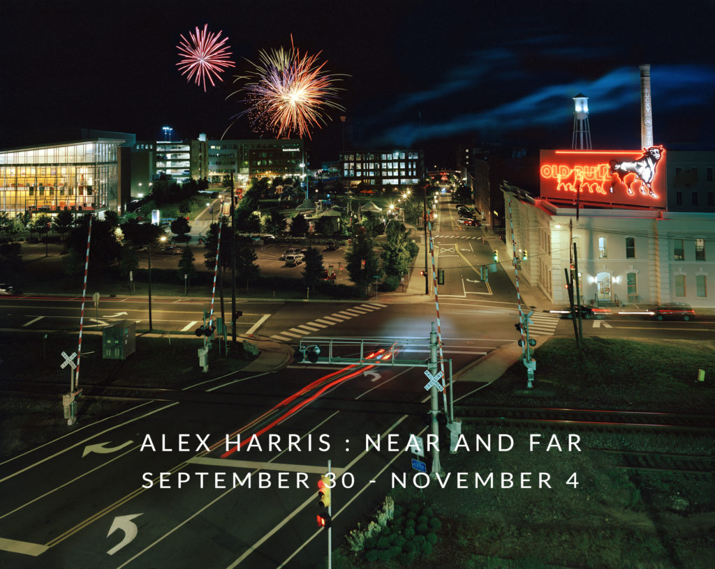 ALEX HARRIS:  NEAR AND FAR at Craven Allen Gallery, Durham, NC