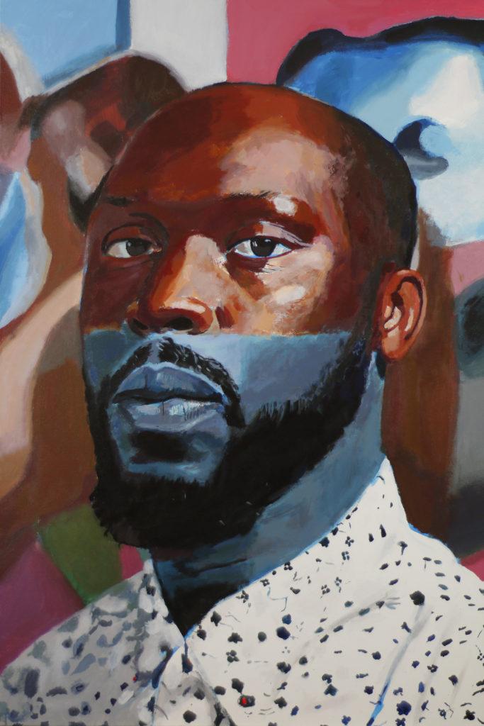 Indigos Daddy by William Paul Thomas Acrylic On Canvas 36×24 4500