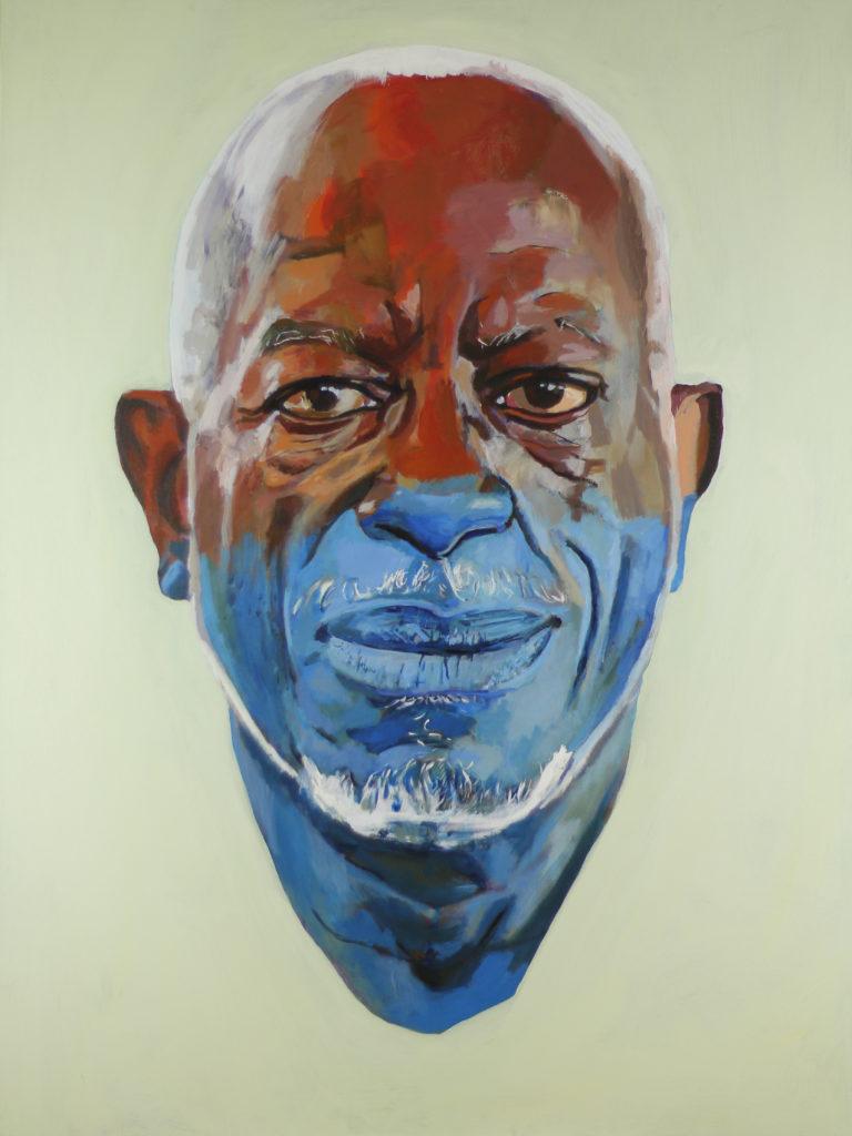 Ms Gennitties Husband by William Paul Thomas Acrylic On Canvas 48×36 5000