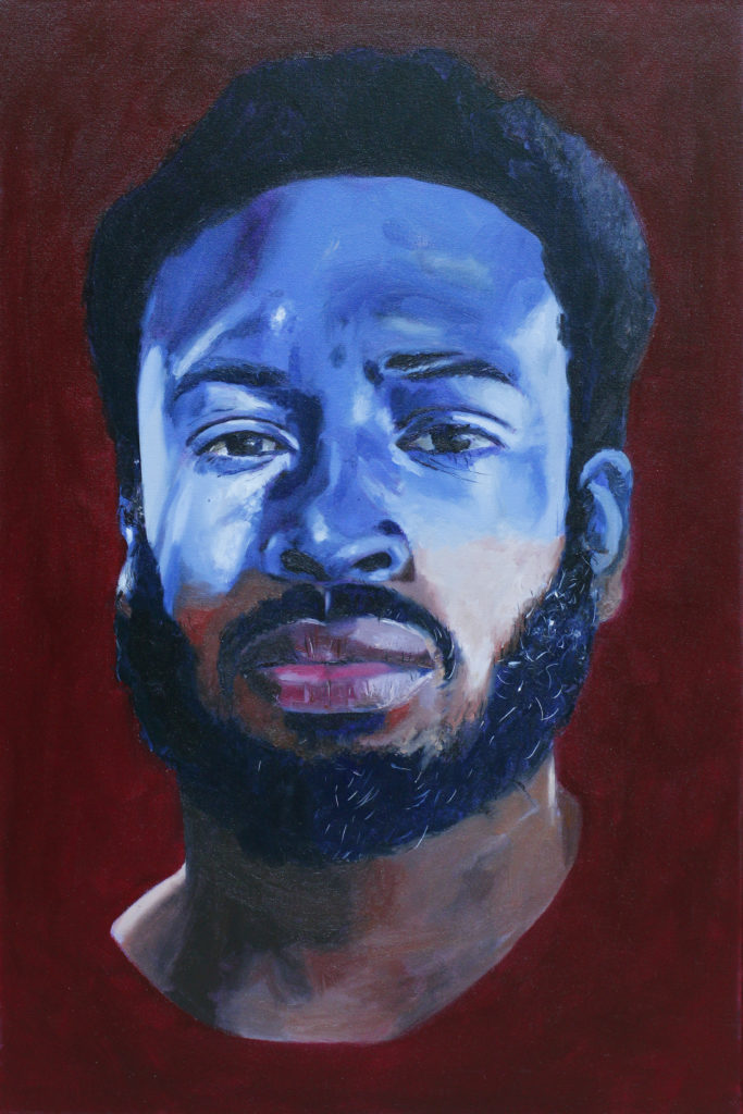 Iscahs Son by William Paul Thomas Oil on Canvas 36×24 4000