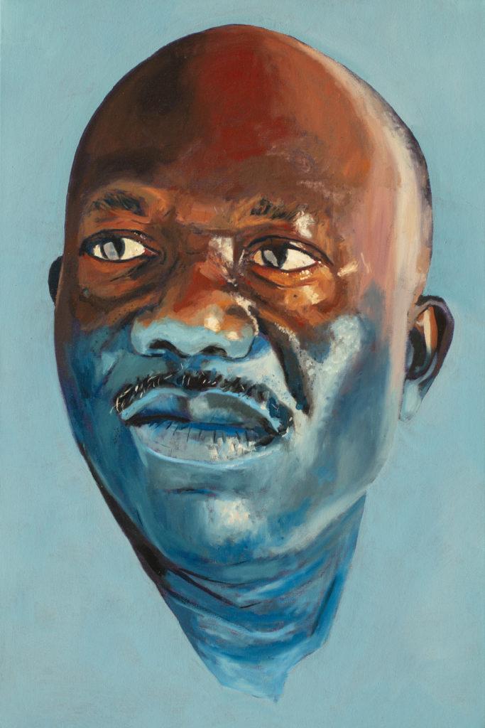 Kennas Dad by William Paul Thomas Oil on Canvas 36×24 4000