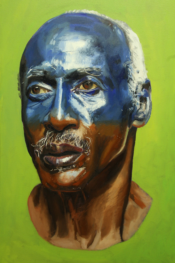 Tamara's Father by William Paul Thomas Oil on Canvas 36×24 4000